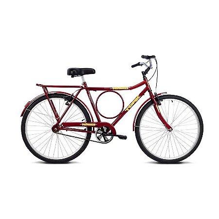 Bicicleta Aro 26 Tork Vermelho - Verden