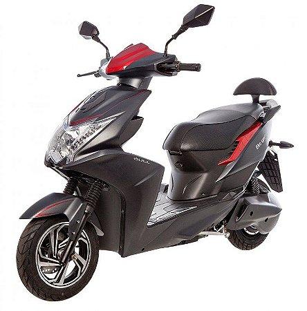Scooter Elétrico Eko Sport 1200W Preto/Vermelho - Bull Motocicletas