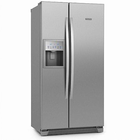 Refrigerador Side by Side SS72X Inox 504 Litros 2 Porta - Electrolux