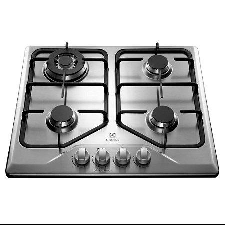 Cooktop à Gás 4 Bocas GT60X Inox Bivolt - Electrolux