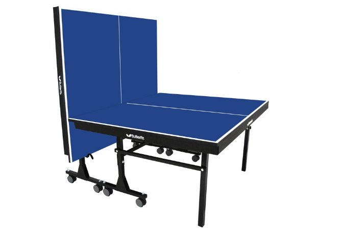 Mesa de Ping-Pong c/ Rodas 25 mm MDF Butterfly - Klopf