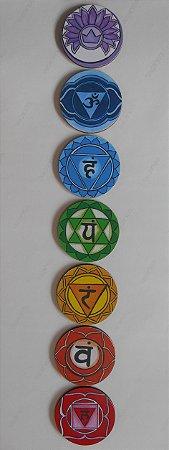 Conjunto Mandalas dos Chacras