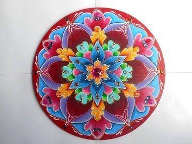 Mandala Flor de 6 Pétalas