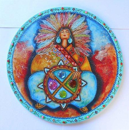 Mandala Xamã Mãe Terra