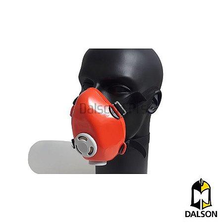 Respirador semi facial p/1 filtro - Plastcor