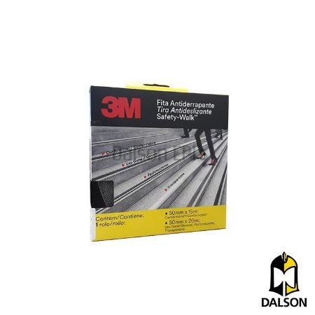 Fita antiderrapante Safety Walk - Fita 50MM x 20M