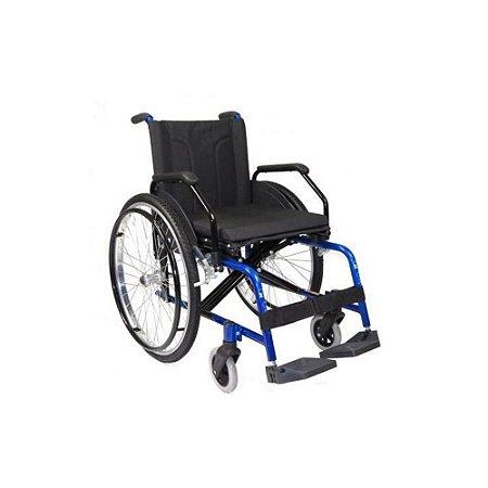 Cadeira de Rodas em Aluminio Confort Obeso