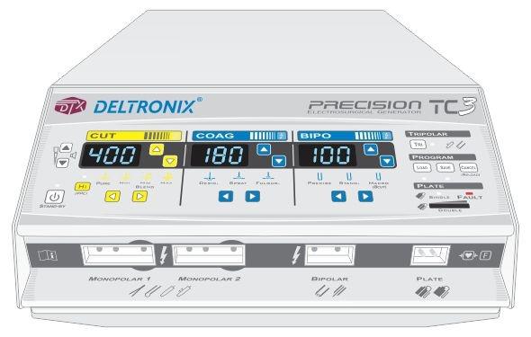 Bisturi Elétrico TC3 | 300 Watts Com ou Sem Unidade de Transporte - Linha PRECISION