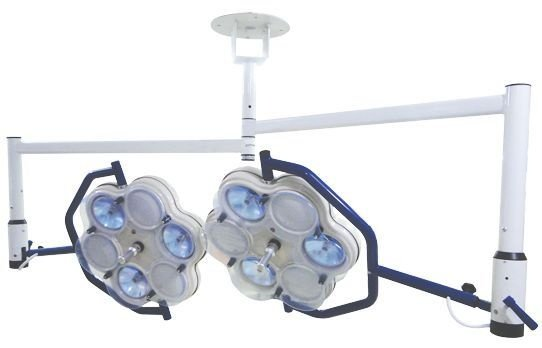 Foco Auxuliar Cirurgico de Teto 2 Cúpulas (6 Bulbos)
