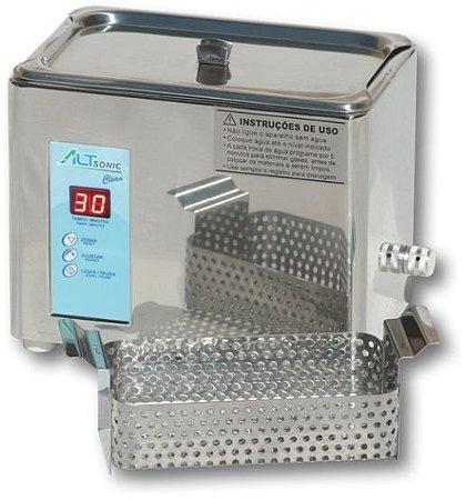 Lavadora Ultrassônica 9 Litros - Altsonic Clean 9 IA