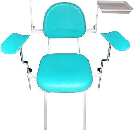 Cadeira de Coleta com Bandeja VIP 100