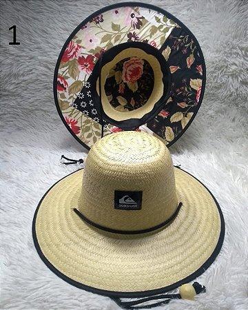 Chapéu De Palha Quiksilver com logo 01 ao 10 - lucianoatacado 611b468a7bb