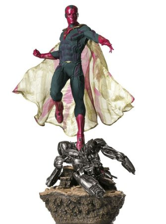 Vision 1/6 Diorama - Avengers: Age Of Ultron - Iron Studios