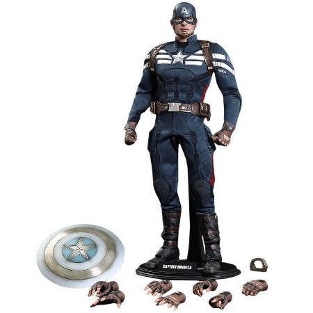 Captain America (Stealth S.T.R.I.K.E. Suit) - Hot Toys