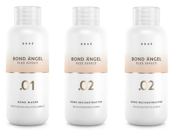 Kit Bond Angel Plex Braé 3x100ml