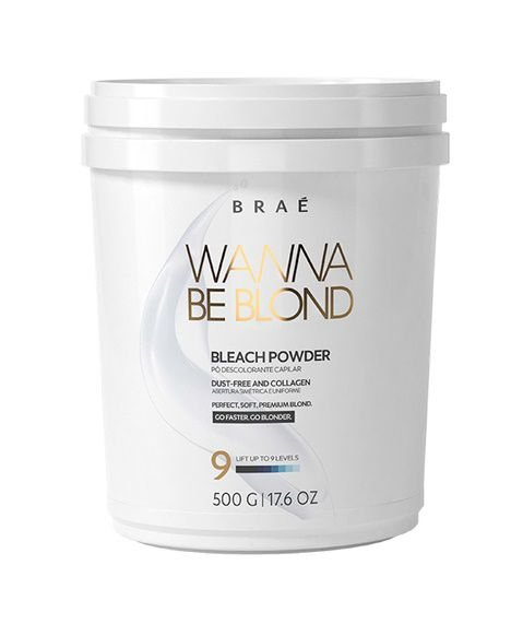 Descolorante Wanna Be Blond 500g Bond Angel Braé Hair Care