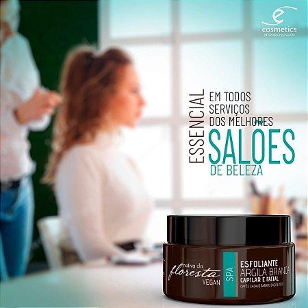 Esfoliante Argila Branca Nativa Da Floresta Vegan 220ml Ecosmetics