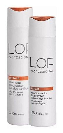 Lof Professional Repair Kit Shampoo 300ml + Cond 250ml