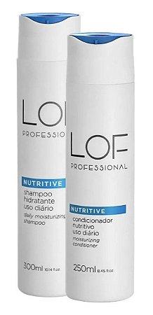 Lof Professional Nutritive - Kit Shampoo & Condicionador 300ml
