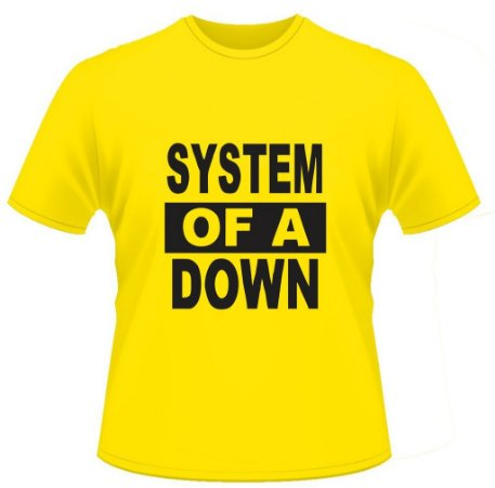 Camiseta System of a Down - Piva Uniformes ae95e6f28c4c7
