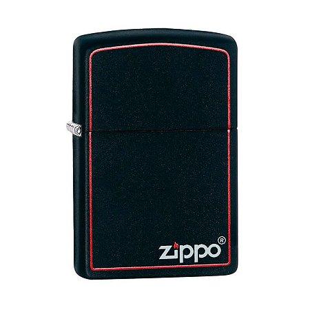 Isqueiro Zippo 218ZB Classic Preto com Borda
