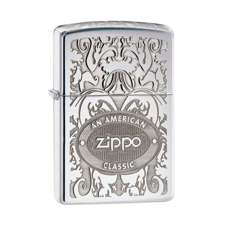 Isqueiro Zippo 24751 Classic Coroa Texturizado (American Classic)