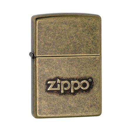 Isqueiro Zippo 28994 Classic Bronze Antigo com Logo