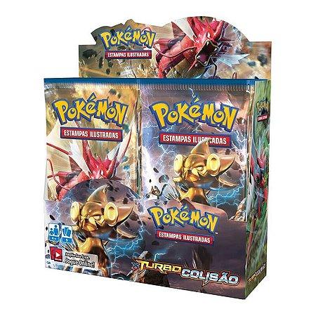 Pokémon TCG Booster Box de 36 unidades - XY 9 Turbo Colisão