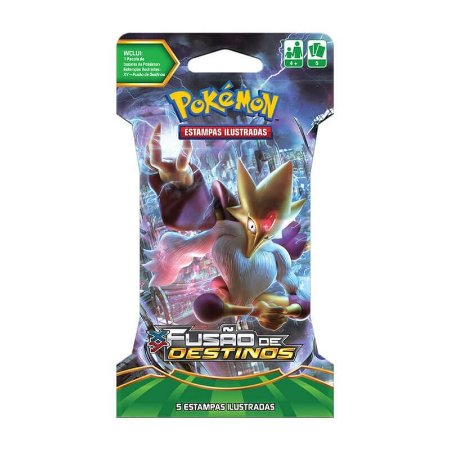 Pokémon TCG Blister Mega Alakazam - XY 10 Fusão de Destinos