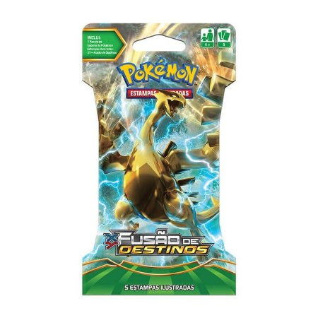 Pokémon TCG Blister Lugia Turbo - XY 10 Fusão de Destinos
