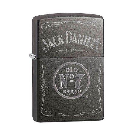 Isqueiro Zippo 29150 Classic Jack Daniel's Acinzentado