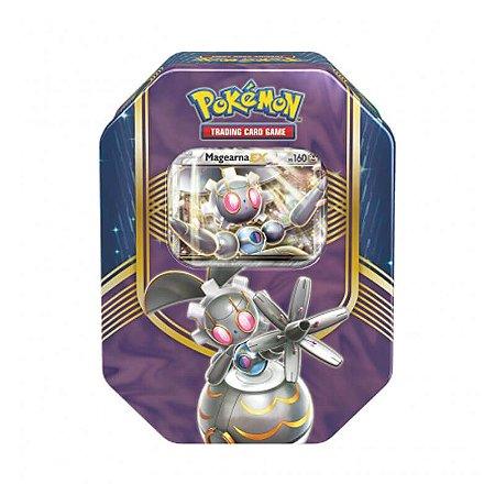 Pokémon TCG: Lata Colecionável Batalha de Coração - Magearna EX