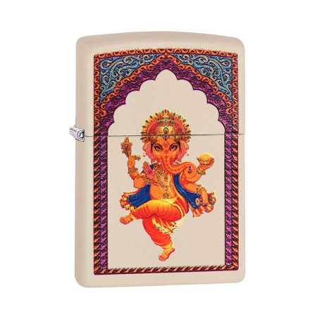 Isqueiro Zippo 29419 Classic Ganesha Creme