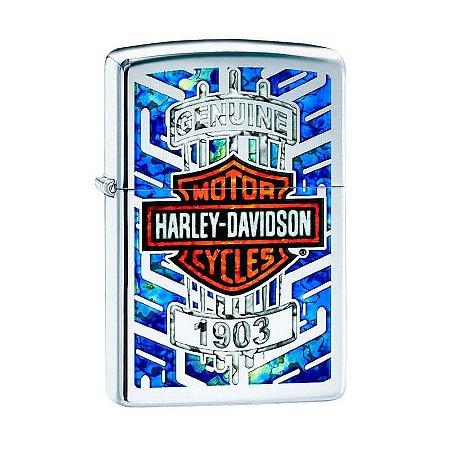 Isqueiro Zippo 29159 Harley-Davidson® Fusion Polido