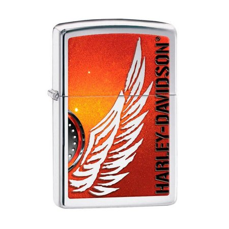 Isqueiro Zippo 28977 Harley-Davidson® Wing Polido