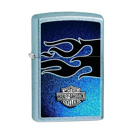 Isqueiro Zippo 28822 Harley-Davidson® Blue Flame Street