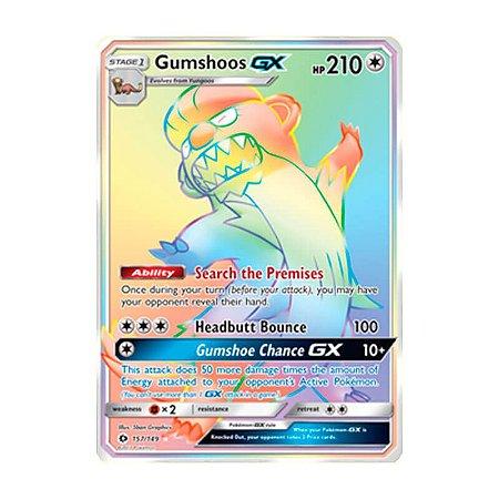 Pokémon - Gumshoos GX (157/149) - SM 1 Sol e Lua