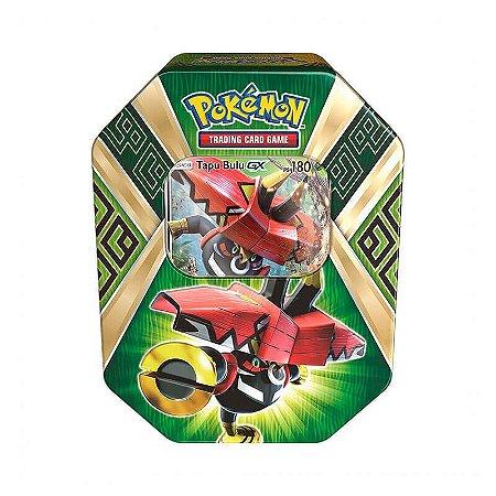 Pokémon TCG: Lata Colecionável Guardiões das Ilhas - Tapu Bulu GX