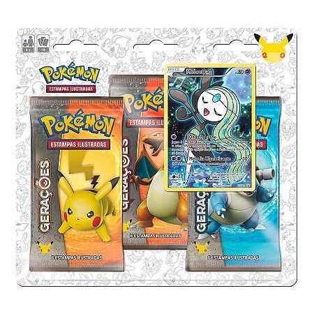 Pokémon TCG: Triple Pack Gerações - Meloetta
