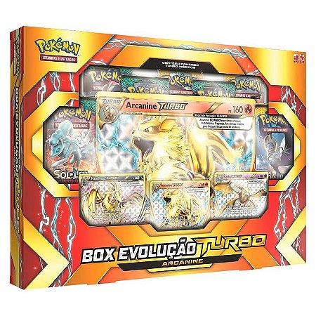 Pokémon TCG: Box Evolução Turbo - Arcanine
