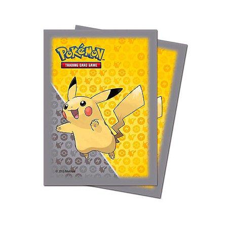 Pokémon TCG: Sleeve Oficial Ultra PRO - Pikachu (65 unidades)