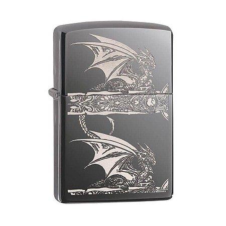 "Isqueiro Zippo 28961 Classic Anne Strokes ""Gothic Dragon"""