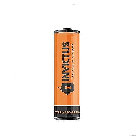 Bateria Recarregável 14500 Invictus (2 unidades)