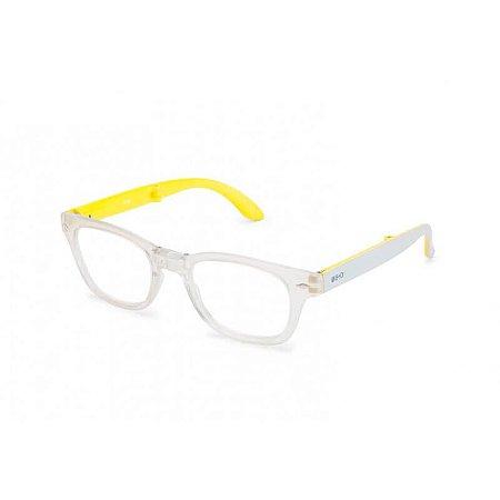 Óculos de Leitura Bold B+D Cristal/Amarelo