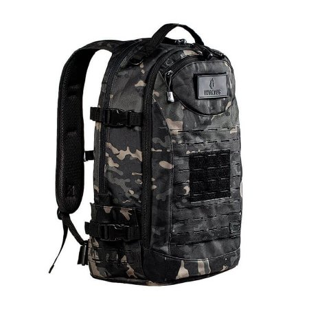 Mochila Camuflada Rusher Multicam Black Invictus