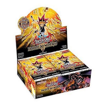 Yu-Gi-Oh! Booster Box (36 unidades) - Pacote do Milênio