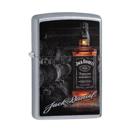 Isqueiro Zippo 29570 Classic Jack Daniel's Tennessee Whisky Street