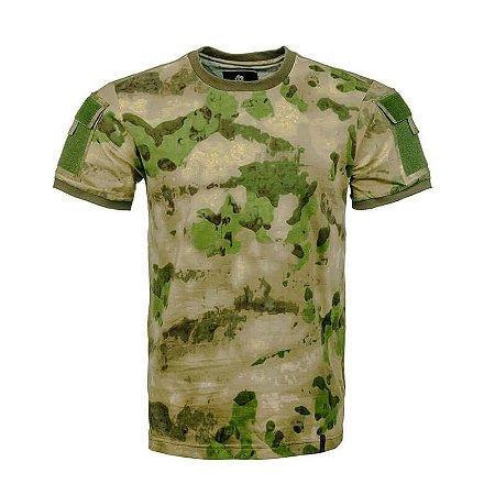 Camiseta Tática Camuflada Army A-Tacs FG Invictus