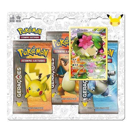 Pokémon TCG: Triple Pack Gerações - Shaymin