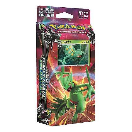 Pokémon TCG: Deck SM7 Tempestade Celestial - Folha Relâmpago